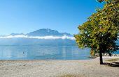 Geneva Lake In Montreux