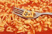 Alphabet Spaghetti