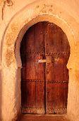 Morocco Kasbah Of Tamnougalt, Door