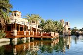 View Of The Souk Madinat Jumeirah, Dubai, Uae