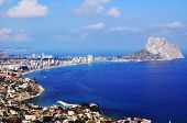 Coastline Of Calpe, Spain