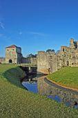 Portchester Castle Moat