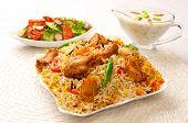 Chicken Biryani-B