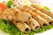 foto of kababs  - A fresh - JPG