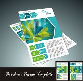 brochure design element vector illustartion