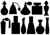 Set Of Perfume Bottles