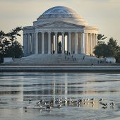 Thomas Jefferson Memorial in Washington DC, United States