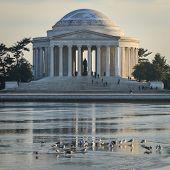 Thomas Jefferson Memorial in Washington DC, United States