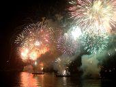 New Year At Copacabana Beach