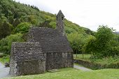 St. Kevin's Chapel At Glendalough
