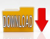 Download File Shows Downloaded Software