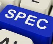 Spec Keys Show Specifications Details Or Design