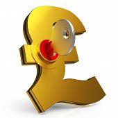 Gbp Key Shows Savings And Finance