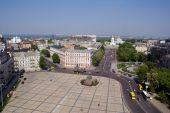 picture of bohdan  - Square and church in center of Kiev - JPG
