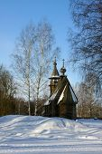 Old Wooden Church, Winter