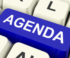 pic of lineup  - Agenda Key On Keyboard Meaning Schedule Outline Or Lineup - JPG