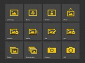 Photographs and Camera icons.