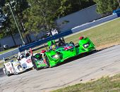 Sebring, FL - Mar 13, 2014:  The Extreme Speed Motorsports HPD ARX-03b takes to the track for a prac