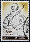 BELGIUM - CIRCA 1961: Stamp printed in Belgium shows Nicholas Rockox of Antwerp circa 1961