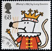 UNITED KINGDOM - CIRCA 2006: A stamp printed in Great Britain shows Maisey's ABC by Lucy Cousins