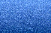 Blue seamless shimmer background with shiny round paillettes. Sparkle glitter techno background .Blu