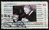 GERMANY- CIRCA 2003: stamp printed in Germany shows Theodor Adorno Philosopher circa 2003
