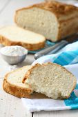 Slices Of Homemade Gluten Free Bread