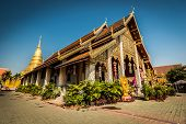 stock photo of hari  - Wat Hari Phun Chai at Lamphun province in Thailand - JPG