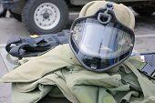 Equipment for police-expert