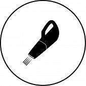 handheld vacuum symbol