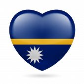Heart icon of Nauru