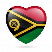 Heart icon of Vanuatu