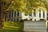 stock photo of supreme court  - Connecticut Supreme court building in Hartford downtown - JPG