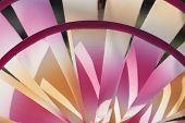 Detail Of Colorful Pinwheel
