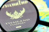 Thailand Passport Zoom