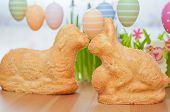 Home made Easter Bunny Cake