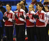 Curling Women Russia Team