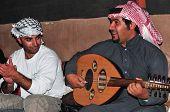 Man Smoking A Hookah In Jordan