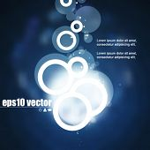 eps10 vector transparent round elements elements background