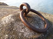 Harbour Wall Tying Ring