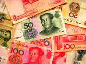 stock photo of zedong  - This is a photo the China currency - JPG