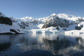 Beautiful landscape in Antartica
