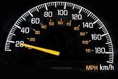 Speedometer 20 Kph