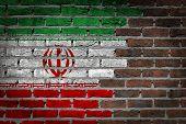 Dark Brick Wall - Iran