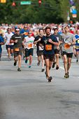 Throng Of Runners Run In July 4 Atlanta Road Race