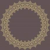 Floral Vector Pattern. Abstract Background