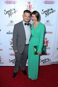 LOS ANGELES - SEP 13:  Jack Osbourne, Lisa Osbourne at the 2014 Brent Shapiro Foundation Summer Spec
