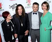 LOS ANGELES - SEP 13:  Sharon Osbourne, Ozzy Osbourne, Jack Osbourne, Lisa Osbourne at the 2014 Bren