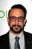 LOS ANGELES - SEP 13:  A.J. McLean at the Voices On Point at Century Plaza Hotel on September 13, 2014 in Century City, CA