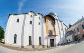 Novgorod, Russia - July 23, 2014: Saint Sophia Cathedral At Novgorod Kremlin. Cathedral Was Built Be